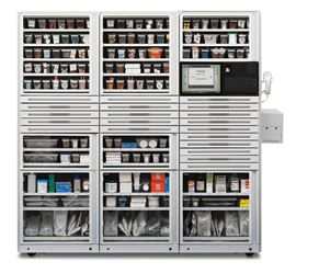 Omnicell 3 Cell cabinet G4